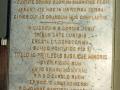 Consécration 1923 Plaque commémorative