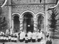 Consécration de l'église du Sacré Coeur en 1908