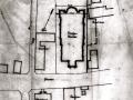 Construction Plan de situation de l'ancienne église Saint Martin (3)