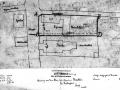 Construction Plan de situation de l'ancienne église Saint Martin