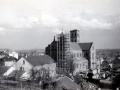 La basilique en reconstruction