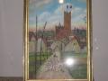 La basilique en ruines Toile