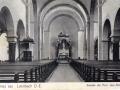 Vue intérieure  en 1908 - Les fresques sont encore absentes