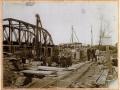 Construction du pont doller à la fin du 19ème siècle