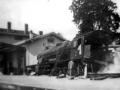 Déraillement en 1939 engare de Lutterbach