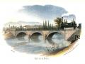 Le pont sur la Doller en 1839