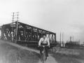 Le pont sur la Doller en 1930