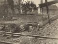 La gare bombardée